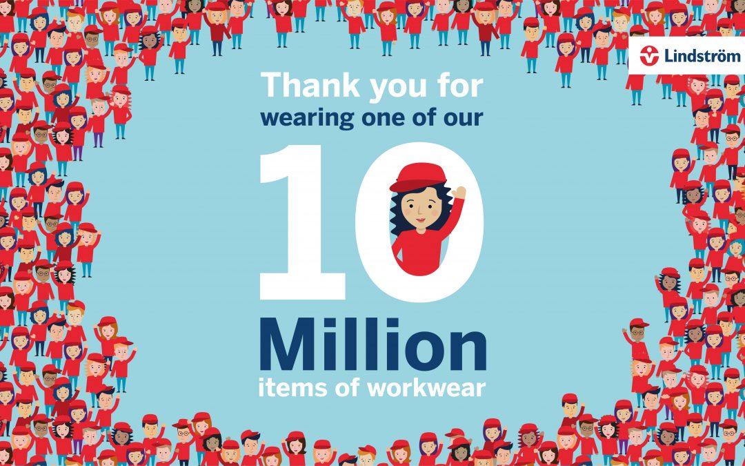 林斯特龙第1000万件工作服的故事